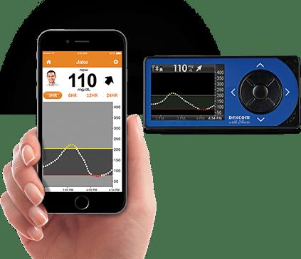 La nueva app Dexcom permite ver las glucemias en nuestro smartphone