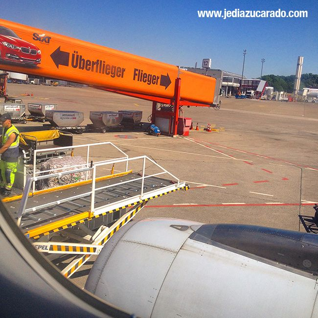 4 vuelos en total para ir y volver del DXberlin