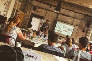 Imagen del workshop con el alemán Bastian Hauck