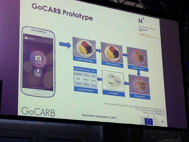 Esquema de funcionamiento de la app Go-Carb