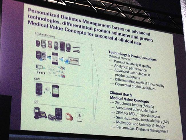 Próximos desarrollos de tecnología en diabetes de Roche