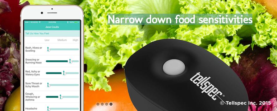 Un espectroscopio de alimentos de bolsillo para analizar comida: TellSpec
