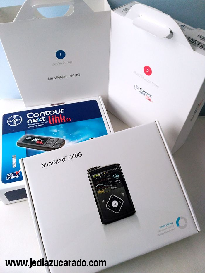 Kit de la bomba de insulina MiniMed 640G de Medtronic