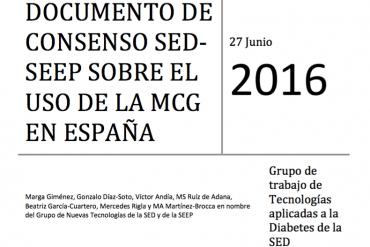 consenso sobre uso de la MCG en España (SED-SEEP)