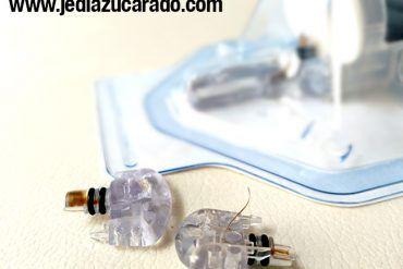 Imagen de los sensores Enlite de Medtronic