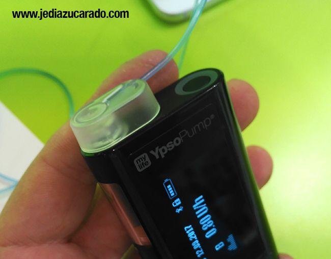 Cartuchos precargados en la bomba de insulina Ypsomed