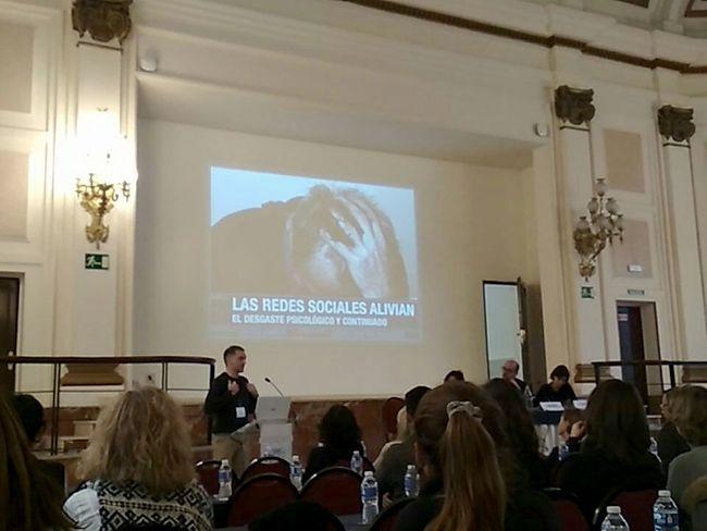 Mi charla sobre redes sociales y diabetes