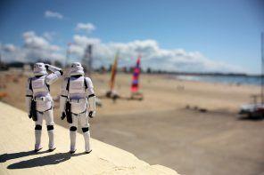 Stormtroopers en la playa