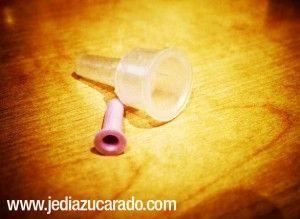Tapones de una aguja para plumas de insulina