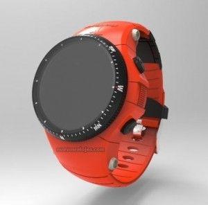 Otro diseño del reloj medidor de glucosa imasD Health