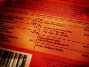 ley sobre el etiquetado de alimentos e información alimentaria facilitada al consumidor