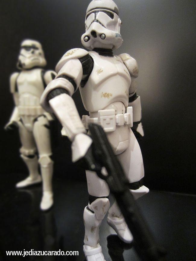 Stormtrooper y clones; unos iguales y otros no