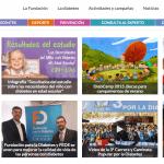 imagen de la web Fundación para la Diabetes