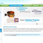 Imagen de la web Diabetes Bayer