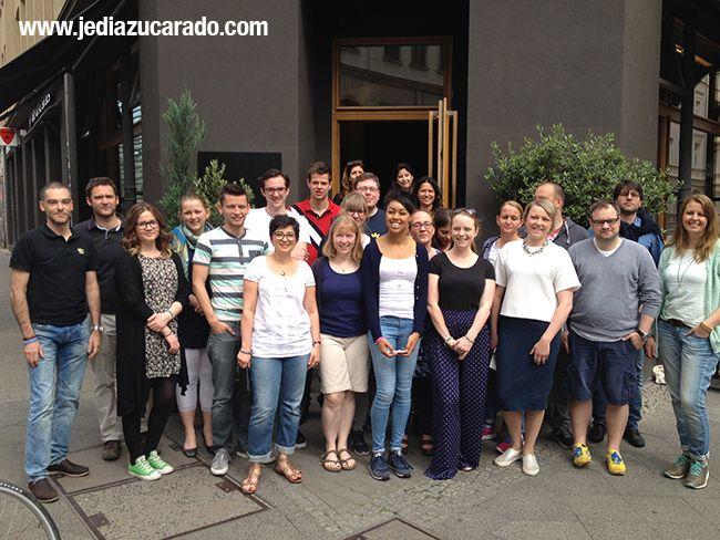 Foto de grupo con los asistentes a DXberlin