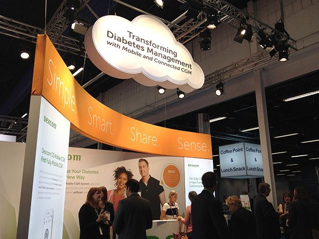 Stand de Dexcom en EASD 2015