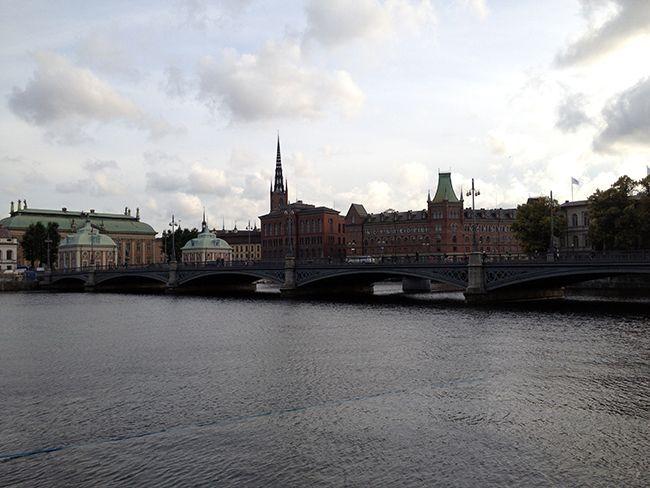 Paisaje de Estocolmo