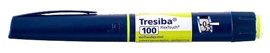 insulina Degludec (Tresiba) de Novo Nordisk