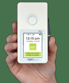 nuevo medidor de glucosa Yofimeter
