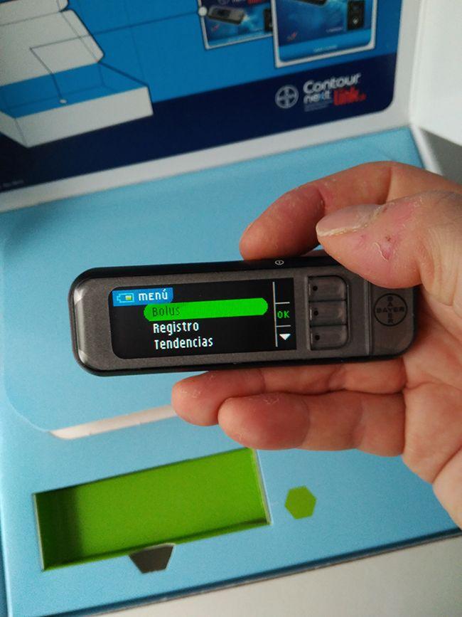 Es necesario que las glucemias del sensor se vean en el smartphone