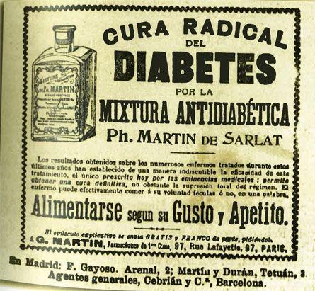Los medicamentos milagrosos contra la diabetes deberían quedar relegados a épocas ya pasadas