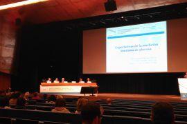 Una de las charlas del congreso de SED en Bilbao