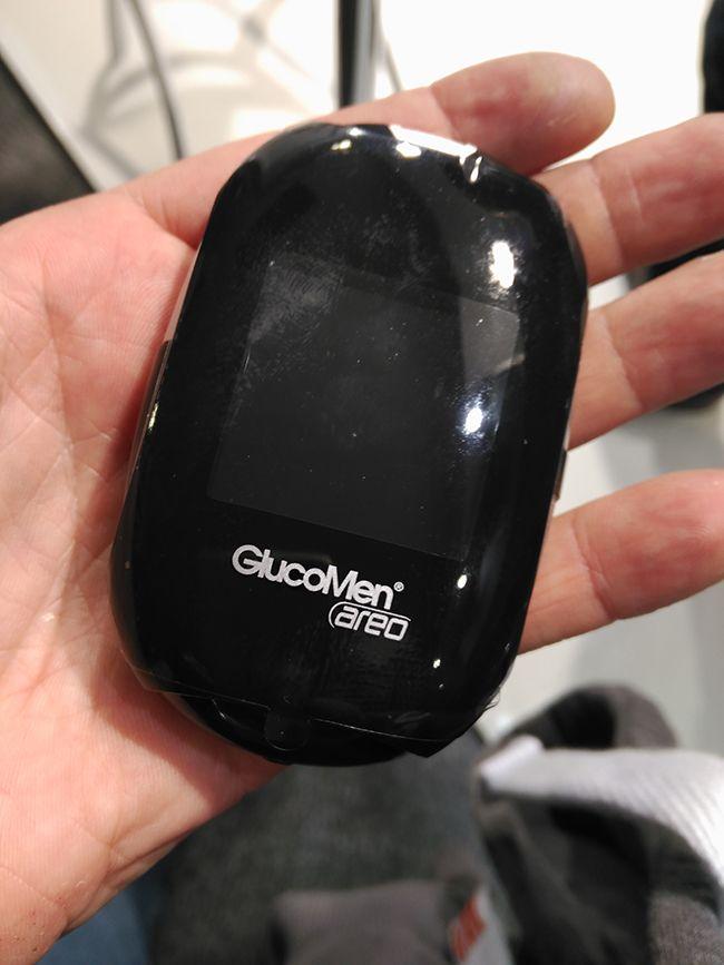 Nuevo medidor de glucosa Glucomen Areo