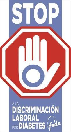 Imagen de la campaña contra la discriminación en el trabajo