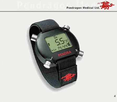 Reloj medidor de glucosa Pendra