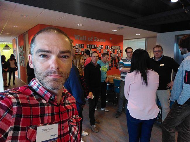 Selfie en Clínica Diabeter (Rotterdam)