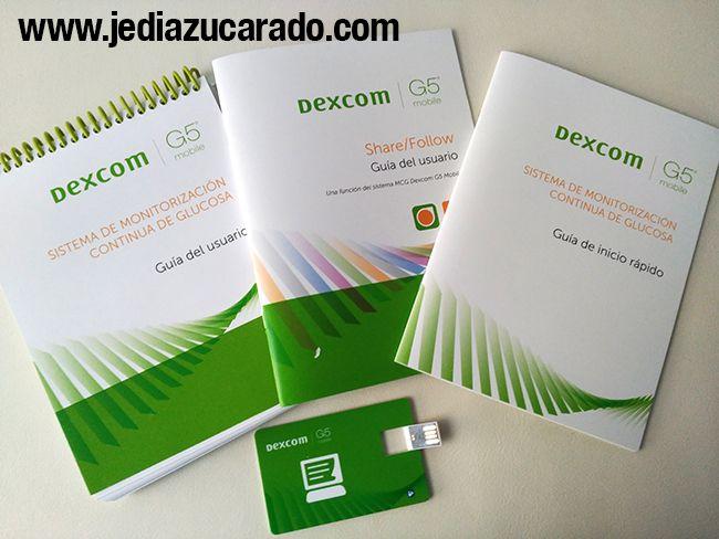 Manuales del Dexcom G5