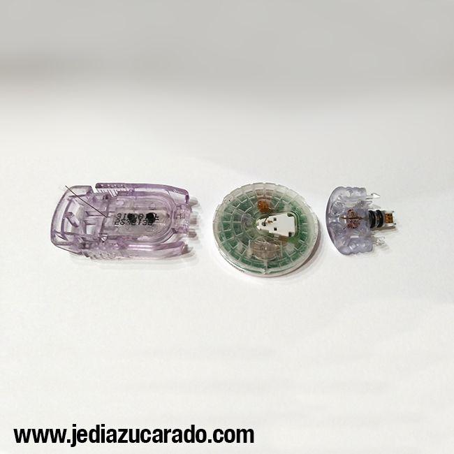 Vista de los 3 sensores MCG disponibles en el mercado.