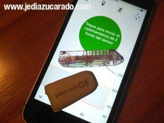 Sistema de medición continua de glucosa Dexcom G5