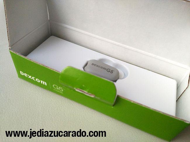 Transmisor del Dexcom G5