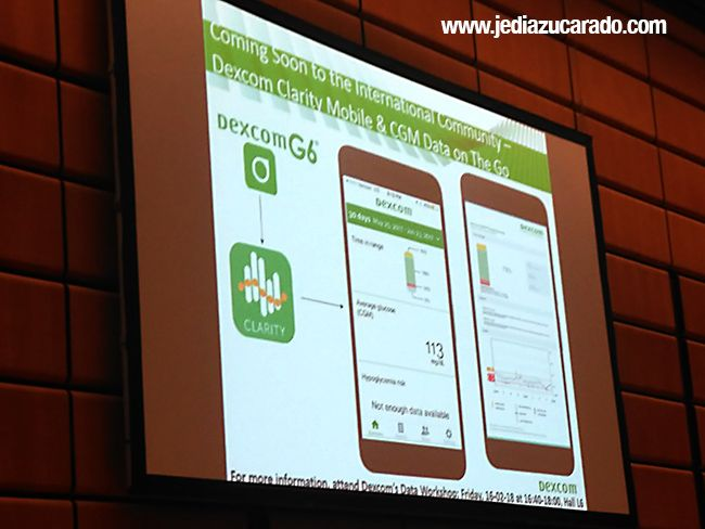 App Clarity de Dexcom