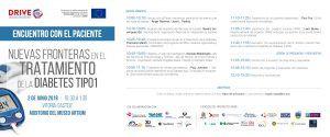 Programa del evento del proyecto Drive