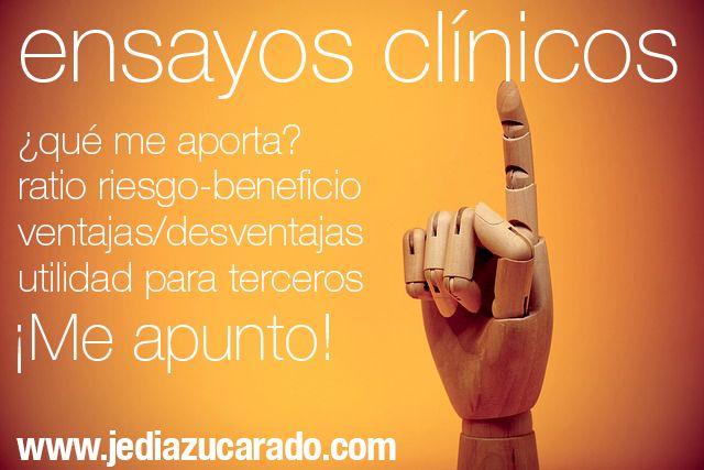 participar en ensayos clínicos