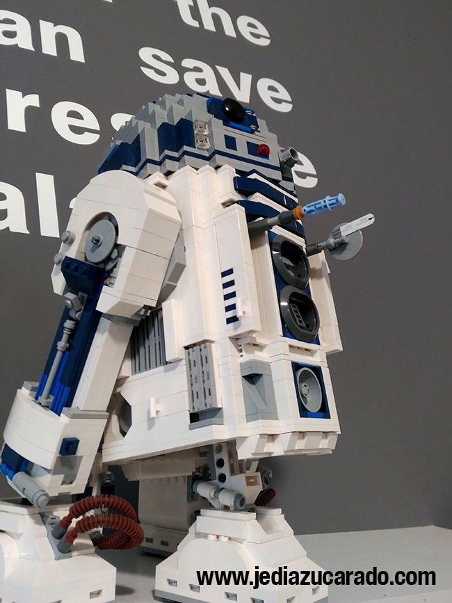 R2-D2 con medidor de glucemia incorporado