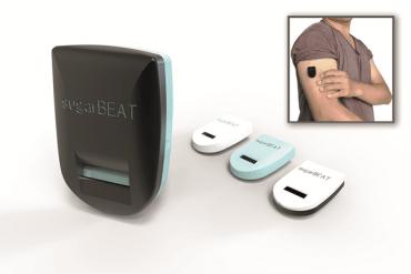 Aspecto del sensor-transmisor SugarBEAT