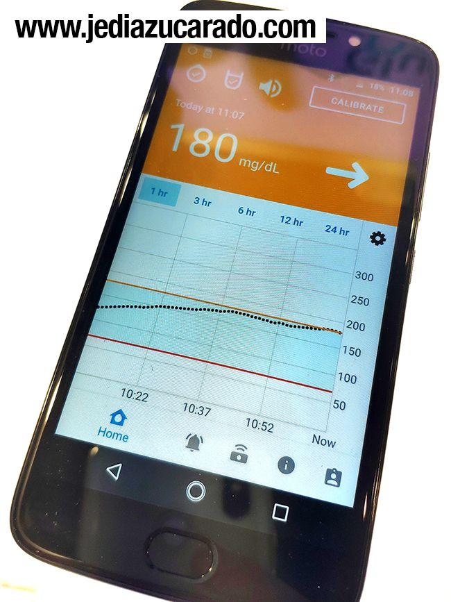 App del sistema Glucomen Day MCG Menarini