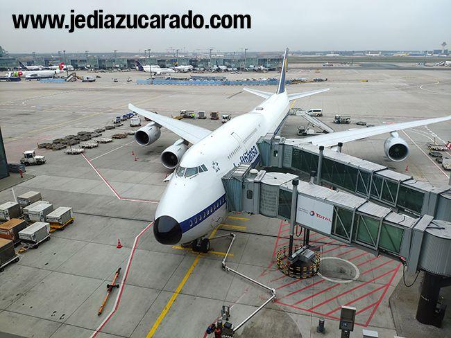 Pedazo avión para viajar a Argentina