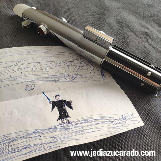 Dibujo para el Jedi Azucarado