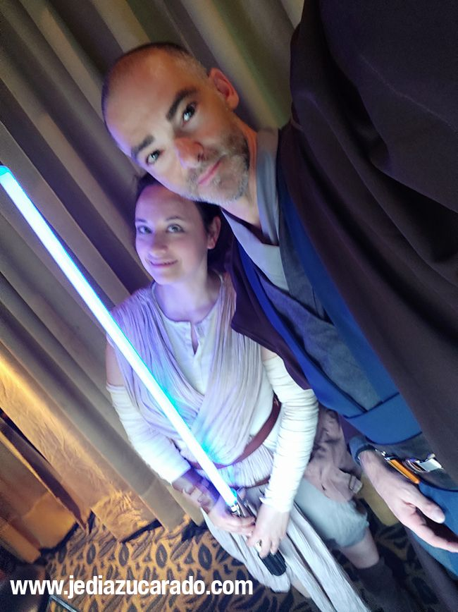 Vestido de Jedi Azucarado