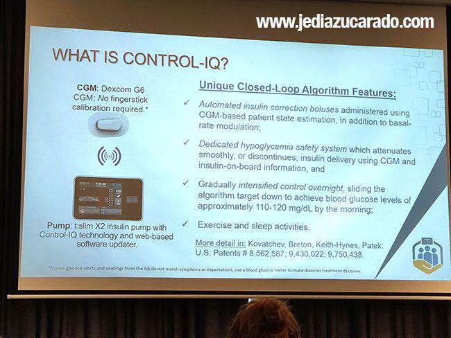 Algoritmos Tandem Control-IQ