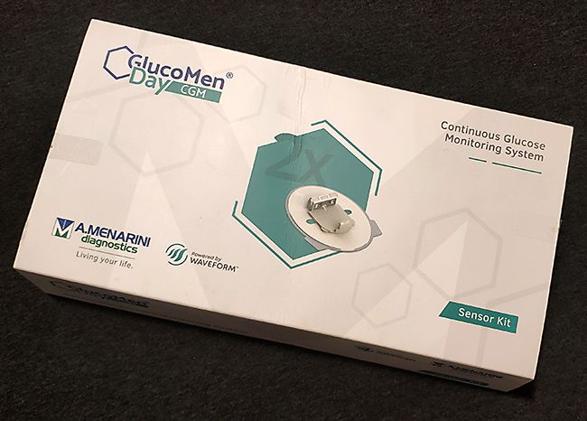 Glucomen Day CGM sensor