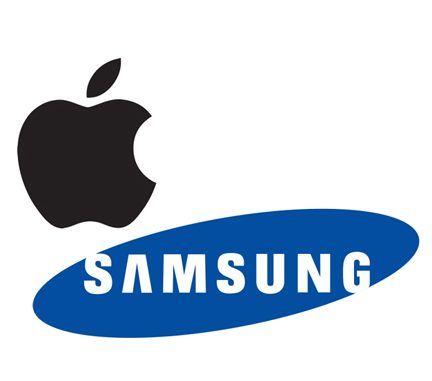 Apple / Samsung logos