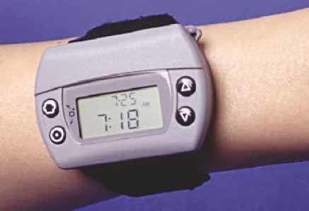 reloj medidor de glucosa Glucowatch