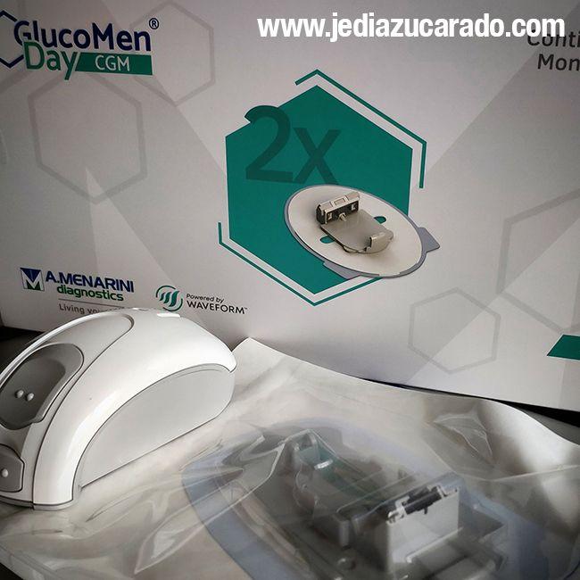 Aplicador y sensor Glucomen Day CGM
